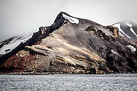 Corroded whaling relics at Whalers Bay, Port Foster, Deception Island.