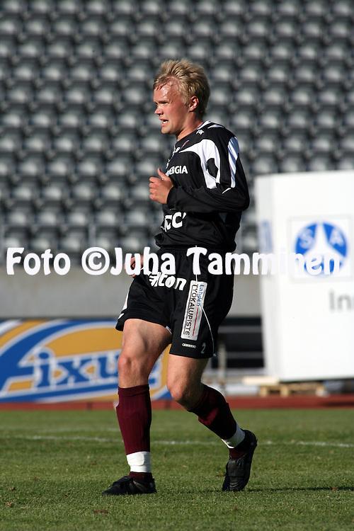 25.05.2008, Lahti, Finland..Veikkausliiga 2008 - Finnish League 2008.FC Lahti - FF Jaro.Heikki Haara - FC Lahti.©Juha Tamminen.....ARK:k