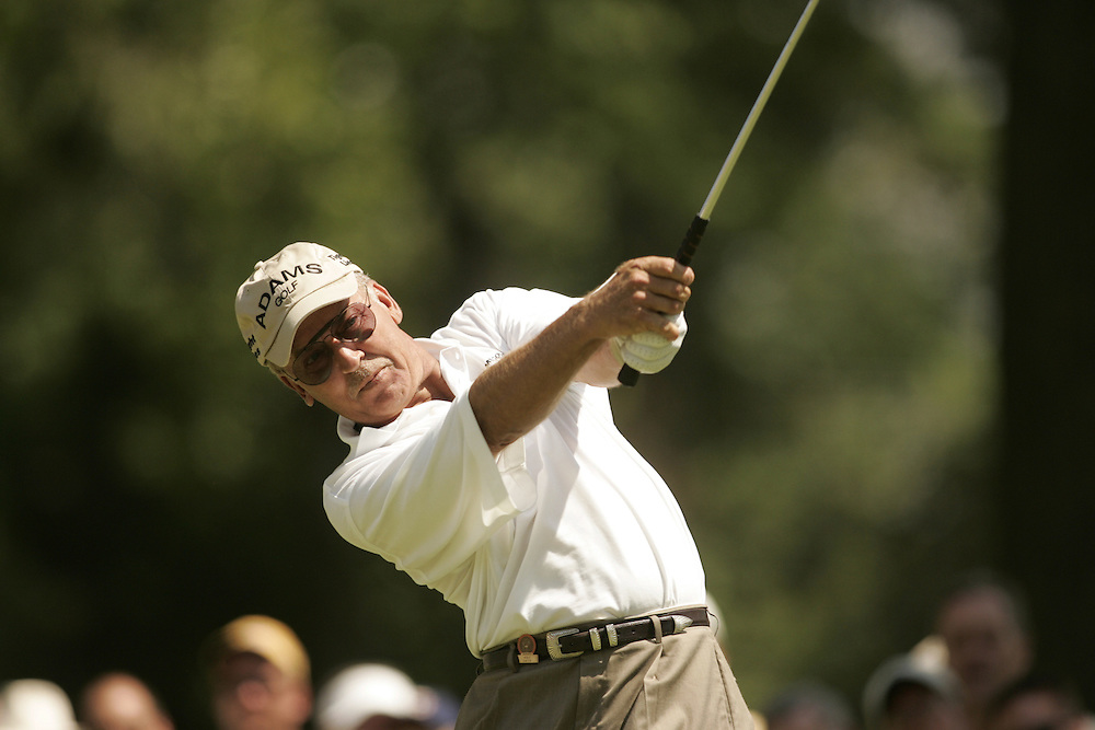 Mike Smith..2004 United States Senior Open.Second Round.Bellerive Country Club.St. Louis MO.Saturday, July 31 2004..photograph by Darren Carroll