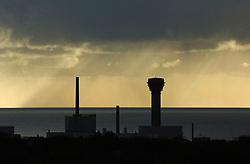 Sellafield nuclear reprocessing plant; Cumbria UK