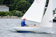 _V0A8307. ©2014 Chip Riegel / www.chipriegel.com. The 2014 Bullseye Class National Regatta, Fishers Island, NY, USA, 07/19/2014. The Bullseye is a Nathaniel Herreshoff designed 15' Marconi rig sailing boat.