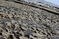 Rocks on Inis Mor Aran Islands County Galway Ireland