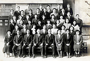 teachers group photo Japan 1952