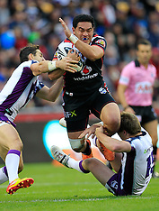 Auckland-Rugby League, NRL, Warriors v Storm