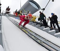 12.02.2013, Vogtland Arena, Kingenthal, GER, FIS Ski Sprung Weltcup, im Bild Karl GEIGER (GER) // during the FIS Skijumping Worldcup at the Vogtland Arena, Kingenthal, Germany on 2013/02/12. EXPA Pictures © 2013, PhotoCredit: EXPA/ Eibner/ Bert Harzer..***** ATTENTION - OUT OF GER *****