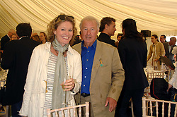 SIR TERENCE & LADY CONRAN at the Cartier Style Et Luxe at the Goodwood Festival of Speed, Goodwood House, West Sussex on 24th June 2007.<br />