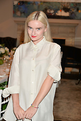 GRACE CHATTO at the Creme de la Mer Blue Marine Foundation Dinner held at The Arts Club, 40 Dover Street, London on 23rd June 2015.