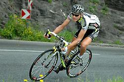 05.07.2011, AUT, 63. OESTERREICH RUNDFAHRT, 3. ETAPPE, KITZBUEHEL-PRAEGRATEN, im Bild Matthias Braendle, (AUT, Geox TMC) // during the 63rd Tour of Austria, Stage 3, 2011/07/05, EXPA Pictures © 2011, PhotoCredit: EXPA/ S. Zangrando