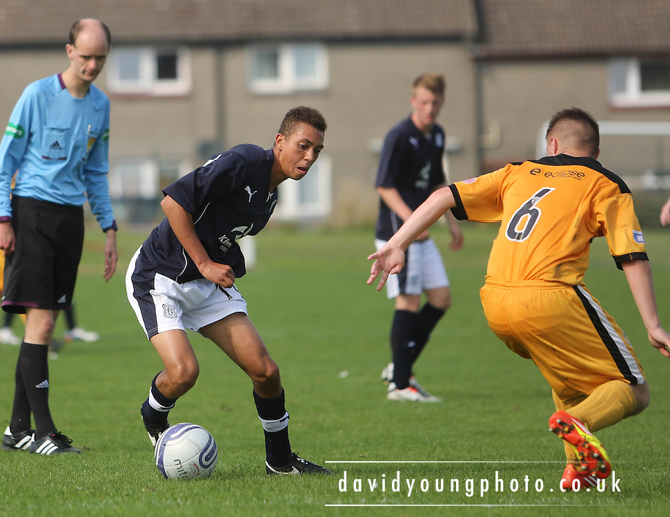 Thomas Carberry - Dundee v Dumbarton - SPFL Under 19s League<br />  <br />  - &copy; David Young - www.davidyoungphoto.co.uk - email: davidyoungphoto@gmail.com