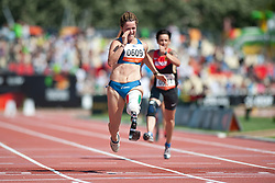 CAIRONI Martina, ITA, 100m, T42, 2013 IPC Athletics World Championships, Lyon, France