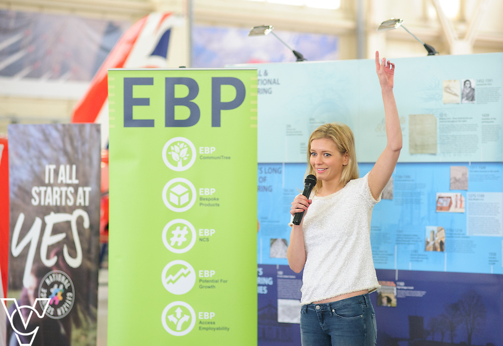 EBP/RAF Scampton Red Stem event 2016.<br /> <br /> Rachel Riley<br /> <br /> Picture: Chris Vaughan/Chris Vaughan Photography<br /> Date: June 13, 2016