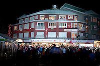 The House of Switzerland celebrates the second gold medal of ski jumper Simon Ammann during the 2010 Olympic Winter Games in Whistler, BC Canada.
