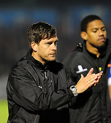 Bristol Rovers Manager, Darrell Clarke - Photo mandatory by-line: Neil Brookman/JMP - Mobile: 07966 386802 - 15/11/2014 - SPORT - Football - Bristol - Memorial Stadium - Bristol Rovers v Kidderminster - Vanarama Football Conference