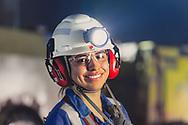 Verónica Ruíz Gutiérrez en Unidad Madero, Zacatecas. Parte de Industrias Peñoles.