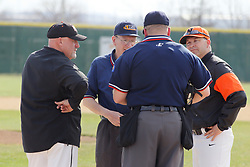 12 April 2018:   Normal Community Ironmen at Normal West Wildcats at NCWHS in Normal Illinois