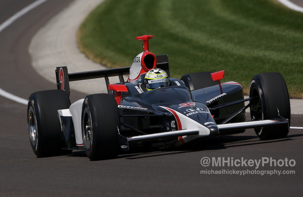 Tomas Scheckter Photo by Michael Hickey