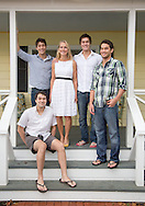 Val Jorgensen. woth her sons at Jorgensen Farms for Capital Style. (Will Shilling/Capital Style)