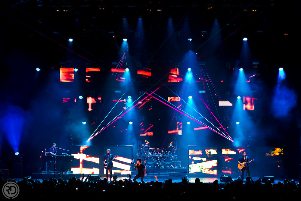 Journey Performs at the Bridgestone Arena in Nashville, TN on September 13, 2011..Photograph © Ross Dettman