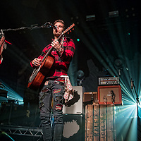 Kaleo in concert at The Barrowland Ballroom, Glasgow, Scotland, Britain 3rd November 2017