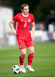 NEWPORT, WALES - Tuesday, October 16, 2018: Wales' Aaron Lewis during the UEFA Under-21 Championship Italy 2019 Qualifying Group B match between Wales and Switzerland at Rodney Parade. (Pic by Laura Malkin/Propaganda)