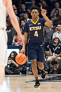 December 16, 2017 - Cincinatti, Ohio - Cintas Center: ETSU guard Jason Williams (4)<br /> <br /> Image Credit: Kevin Schultz