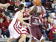November 4, 2013: The Oklahoma Christian University Eagles play an exhibition game against the University of Oklahoma Sooners at McCasland Field House in Norman, OK.