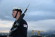 Belfast: Nato warships dock in Belfast, 4 Nov. 2016