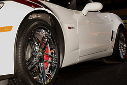 08 February 2007: 2007 Chevrolet Corvette Z06. The Chicago Auto Show is a charity event of the Chicago Automobile Trade Association (CATA) and is held annually at McCormick Place in Chicago Illinois.