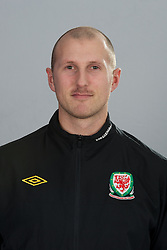 TREFOREST, WALES - Tuesday, February 14, 2011: Wales' goalkeeping coach Paul Whitfield. (Pic by David Rawcliffe/Propaganda)