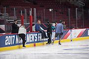 NCAA Frozen Four 2017<br /> United Center<br /> Chicago, IL <br /> <br /> <br /> www.AdamAlexanderPhoto.com<br /> ©Adam Alexander Photography 2017