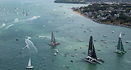 Image licensed to Lloyd Images<br /> The 2015 Rolex Fastnet Race start. Cowes. Isle of Wight<br /> Credit: Lloyd Images