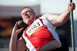TISCHLER Georg, AUT, Shot Put, F54/55, 2013 IPC Athletics World Championships, Lyon, France