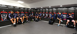 Bristol players relax before the start of the game - Mandatory by-line: Alex Davidson/JMP - 08/12/2017 - RUGBY - Ashton Gate Stadium - Bristol, England - Bristol Rugby v Leinster 'A' - B&I Cup