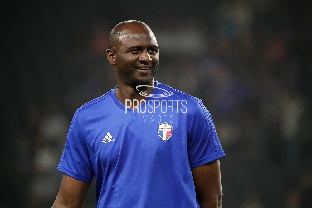 Patrick Vieira (France 98) at warm up during the 2018 Friendly Game football match between France 98 and FIFA 98 on June 12, 2018 at U Arena in Nanterre near Paris, France - Photo Stephane Allaman / ProSportsImages / DPPI