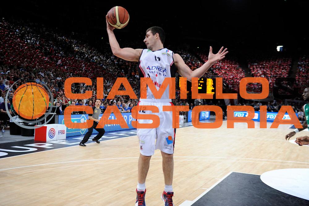 DESCRIZIONE : Coupe de France Paris Bercy Finale<br /> GIOCATORE : Evtimov Ilian<br /> SQUADRA : Chalon<br /> EVENTO : Coupe de France <br /> GARA : Chalon Limoges<br /> DATA : 20/05/2012<br /> CATEGORIA : Basketball France Homme<br /> SPORT : Basketball<br /> AUTORE : JF Molliere<br /> Galleria : France Basket 2011-2012 Action<br /> Fotonotizia : Coupe de France Paris Bercy Finale<br /> Predefinita :