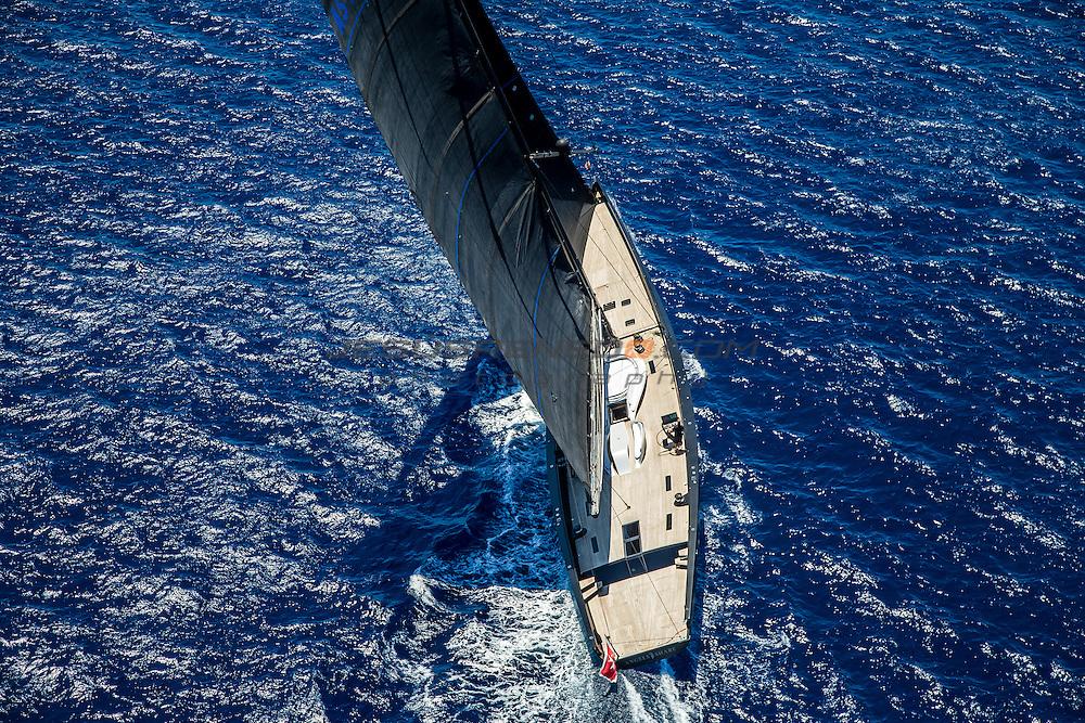"Wally  130 ""Angels Share"" Evolution sails ©jesusrenedo.com"