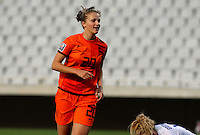 Fifa Womans World Cup Canada 2015 - Preview //<br /> Cyprus Cup 2015 Tournament ( Gsp Stadium Nicosia - Cyprus ) - <br /> Netherlands vs England 1-1   //  Anna Miedema of Netherlands , celebrates after his Goal (1-0)