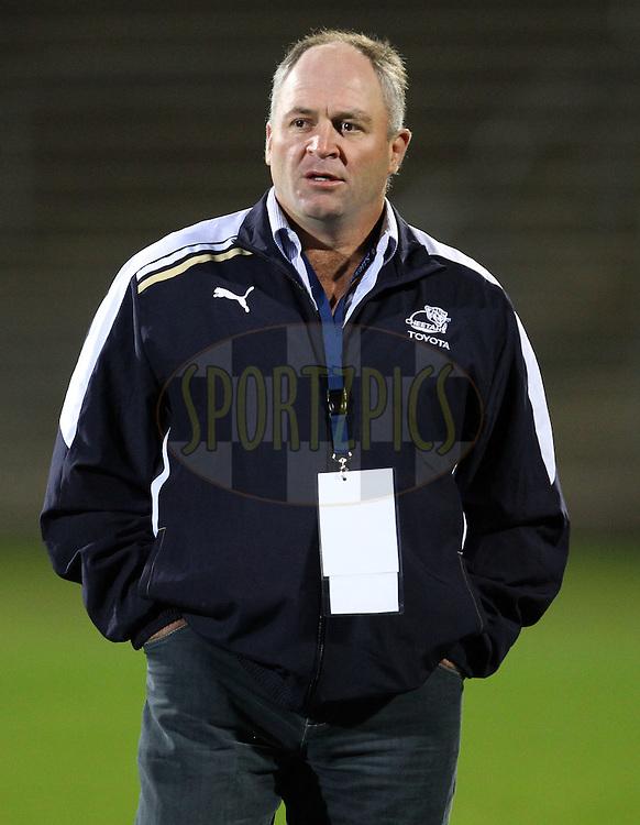 Cheetahs coach Naka Drotske..Investec Super Rugby - Highlanders v Cheetahs, 8 April 2011, Carisbrook Stadium, Dunedin, New Zealand..Photo: Rob Jefferies / www.photosport.co.nz