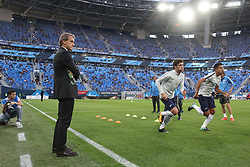 August 3, 2017 - Saint Petersburg, Russia - Of The Russian Federation. Saint-Petersburg. Arena Saint-Petersburg. Zenit-Arena. The UEFA Europa League. The match of the third qualifying round. Zenit - Bnei Yehuda. (Credit Image: © Russian Look via ZUMA Wire)