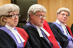 Judges sitting in Liverpool Crown Court