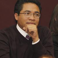 Toluca, Mex.- Irak Vargas Ramírez, coordinador del Nuevo Partido Ciudadano durante el arranque del proyecto político en donde asistieron alrededor de 300 personas. Agencia MVT / Crisanta Espinosa. (DIGITAL)<br /> <br /> NO ARCHIVAR - NO ARCHIVE