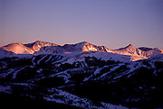 Copper Mountain at Dusk