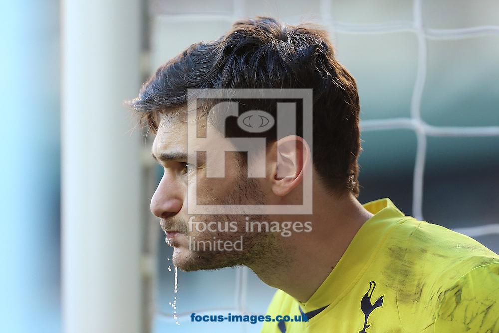 Hugo Lloris of Tottenham Hotspur during the Barclays Premier League match against Arsenal at White Hart Lane, London<br /> Picture by Richard Calver/Focus Images Ltd +447792 981244<br /> 16/03/2014