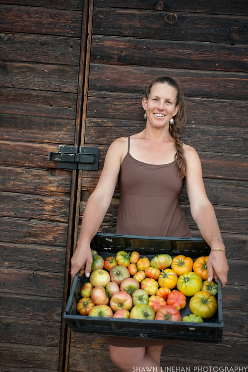 Sarahlee Lawrence of Rainshadow Organics Farm