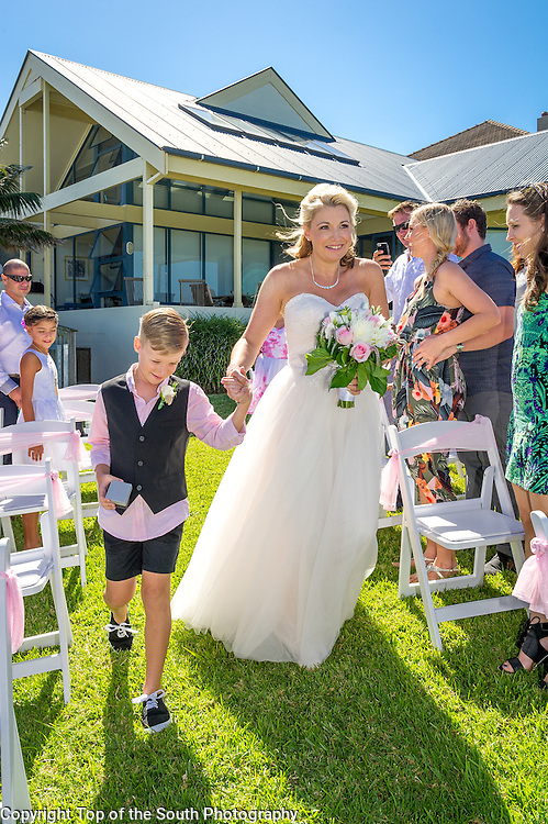 Love was in the air on Saturday where Heidi Edler was married to Paul Gugich at Austinmer, Wollongong, NSW, Australia 05-03-2016