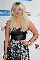 LONDON - September 01: Amelia Lily attended 'A Night of Champions' at the Grosvenor House Hotel, London, UK. September 01, 2012. (Photo by Richard Goldschmidt)