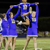 09-28-17 BHS Jr High Cheerleaders - Gentry game