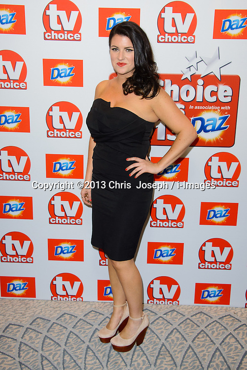 TV Choice Awards 2013 - London.<br /> Laura Norton arriving at the TV Choice Awards 2013, The Dorchester Hotel, London, United Kingdom. Monday, 9th September 2013. Picture by Chris  Joseph / i-Images
