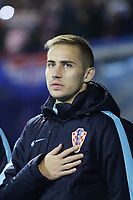 ZAGREB, CROATIA - NOVEMBER 09: Portrait of Marko Rog of Croatia during the FIFA 2018 World Cup Qualifier play-off first leg match between Croatia and Greece at Maksimir Stadium on November 9, 2017 in Zagreb, Croatia. (Luka Stanzl/PIXSELL)