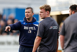 Bristol Rugby First Team Coach Sean Holley looks on - Mandatory byline: Rogan Thomson/JMP - 19/12/2015 - RUGBY UNION - Goldington Road - Bedford, England - Bedford Blues v Bristol Rugby - B&I Cup.